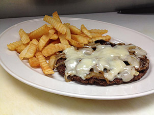Hamburger Steak Plate